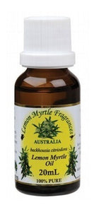 Lemon Myrtle Fragrances Essential Oil (100%) 20ml