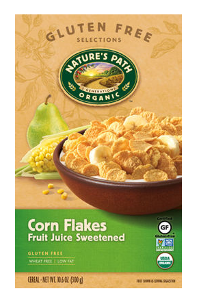 Nature`s Path Organic Corn Flakes 375g
