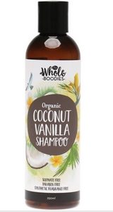 The Whole Boodies Shampoo Coconut Vanilla - 250ml