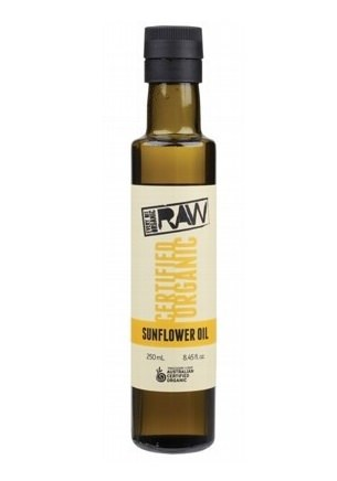 Every Bit Organic Raw Sunflower Oil (Unrefined) 250ml