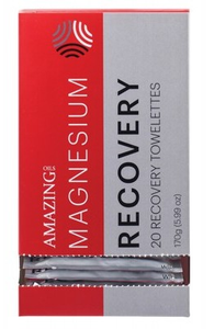 Amazing Oils Magnesium Recovery Wipes 20 pack