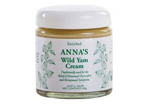Anna's Wild Yam Cream For Her 100g