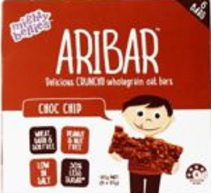 Mighty Bellies Aribar Choc Chip Bars 6pk 120g