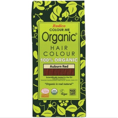 Radico Colour Me Organic - Hair Colour Powder - Auburn Red 100g