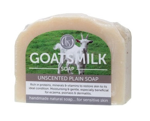 Harmony Soapworks Unscented Goat's Milk Soap 140g