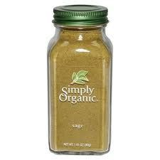 Simply Organic Ground Sage 51g (Kosher)