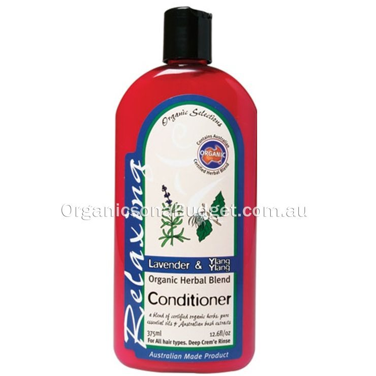 Organic Selections Conditioner Lavender & Ylang Ylang 375ml