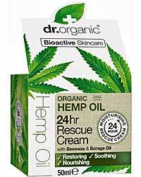 Dr Organic Hemp Rescue Cream 50ml