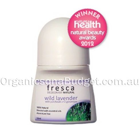 Fresca Natural Wild Lavender Deodorant Roll-On 50ml