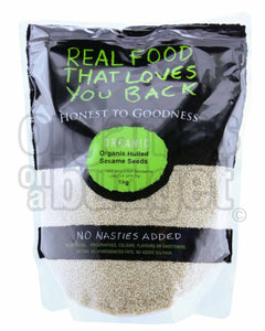 Honest To Goodness Organic Hulled Sesame Seeds 1KG