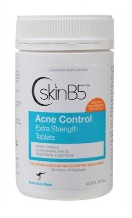 Skin B5 Acne Control Extra Strength Tablets 180