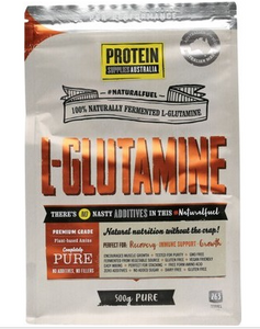 Protein Supplies Australia L-Glutamine 100% Pure Powder 500g