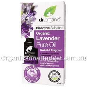 Dr Organic Lavender Oil 10ml