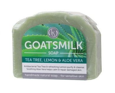 Harmony Soapworks Tea Tree & Lemon Goat's Milk Soap 140g
