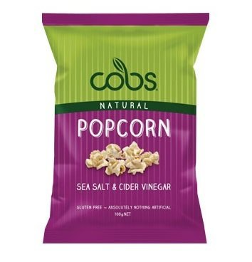 Cobs Popcorn Sea Salt & Cider Vinegar 100g