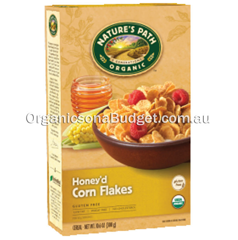 Nature's Path Organic Honey'd Corn Flakes 300g