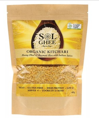 Sol Ghee Organic Kitchari Moong Dhal & Basmati Rice Mix 400g