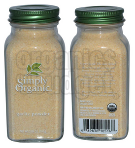 Simply Organic Garlic Powder 103g (Kosher)