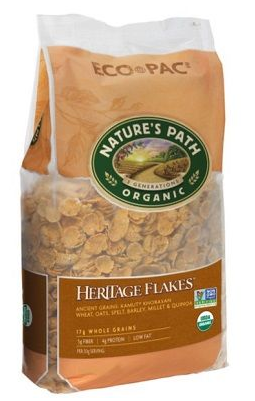 Nature`s Path Organic Heritage Flakes Eco Pack 907g