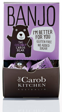 The Carob Kitchen Banjo Carob Coconut Bear 50x15g