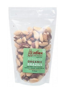 2die4 Live Foods Activated Organic Brazil Nuts 300g