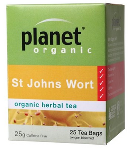 Planet Organic St John's Wort Organic Herbal Tea Bags 25 bags/25g