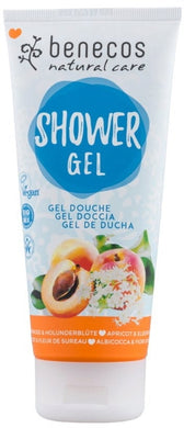 Benecos Shower Gel - Apricot & Elderflower 200ml