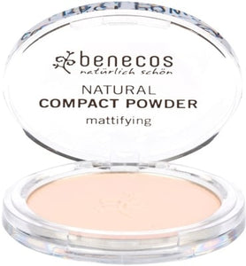 Benecos Natural Compact Powder - Fair 9g