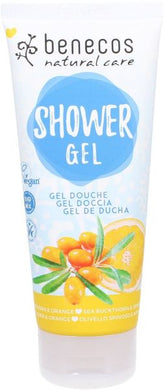 Benecos Shower Gel - Sea Buckthorn & Orange 200ml