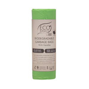 White Magic Eco Basics Bio Garbage Bags Large 66cmx102cm 50L