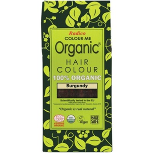 Radico Colour Me Organic - Hair Colour Powder - Burgundy 100g