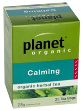 Planet Organic Calming Herbal Tea 25 bags/25g