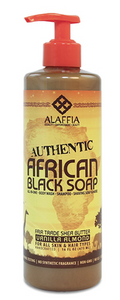 Alaffia African Black Soap Vanilla Almond  475ml