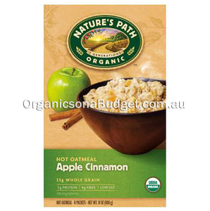 Nature`s Path Organic Hot Oatmeal Apple Cinnamon 400g