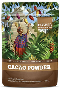 Power Super Foods Organic Cacao Powder 1kg