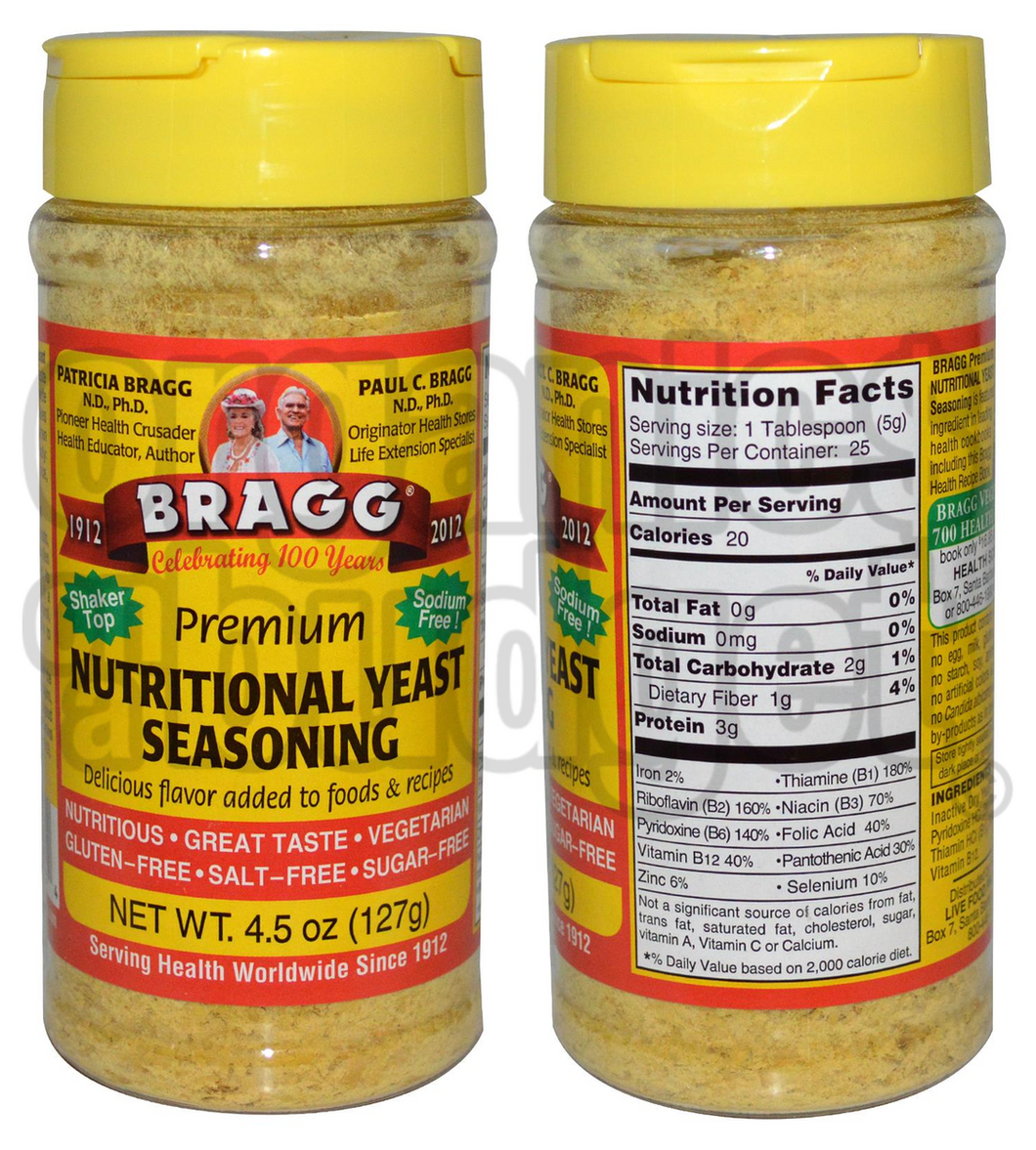 Bragg Premium Nutritional Yeast Seasoning 127g
