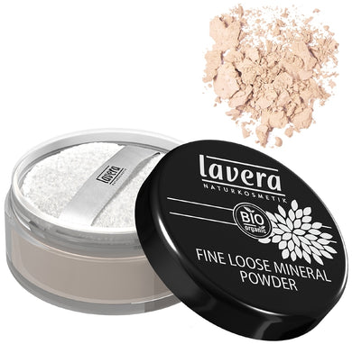 Lavera Fine Loose Mineral Powder - Transparent 10g (FREE SHIPPING)