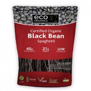Eco Organics Black Bean Spaghetti 200g Organics On A Budget