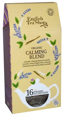 English Tea Shop Organic Calming Blend Pyramids 16pc