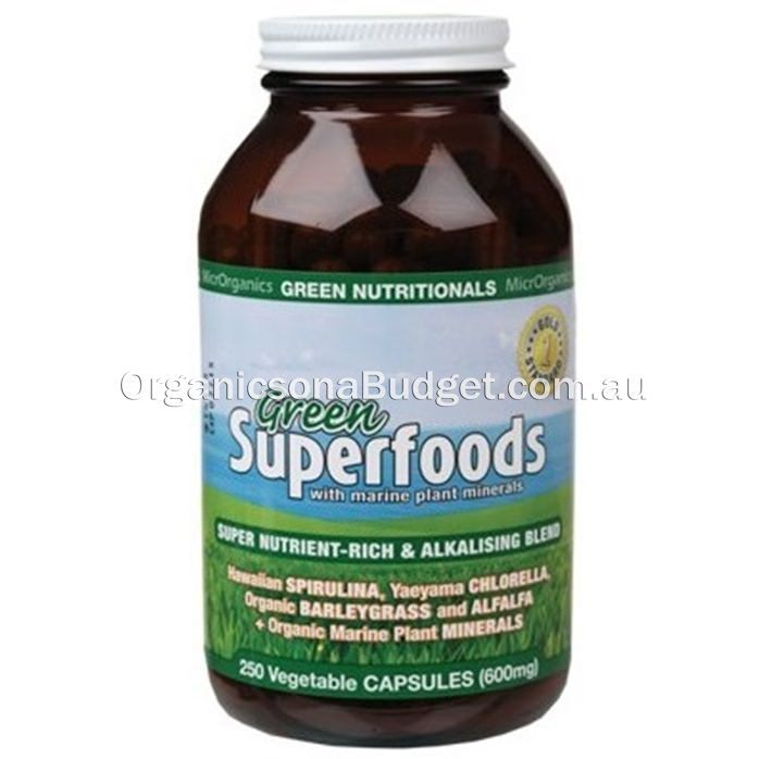 Green Nutritionals Green Calcium (600mg) 250 VegeCaps