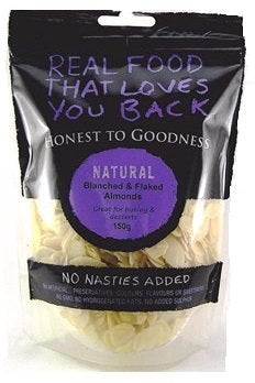 Honest To Goodness Blanched & Flaked Almonds 150g