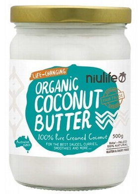 Niulife Organic Creamed Coconut 500g