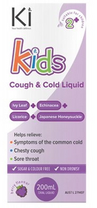 Martin & Pleasance Ki Kids Cough & Cold Liquid 200ml