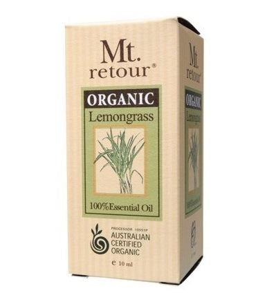 Mt Retour Lemongrass Essential Oil 10ml