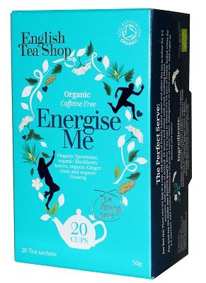 English Tea Shop Organic Wellness Energize Me Teabags 20pc