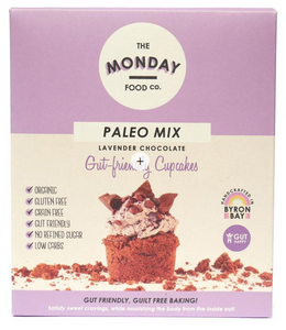 Monday Food. Co Paleo Mix Cupcakes - Lavender Chocolate 300g