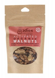 2die4 Live Foods Activated Organic Australian Walnuts 40g