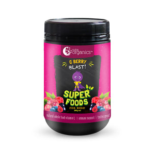 Nutra Organics Superfoods For Kidz - C Berry Blast 200g