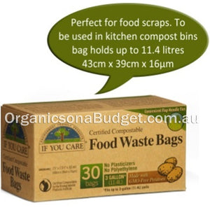 If You Care Tall Food Waste Bags 30 Bags