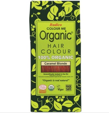 Radico Colour Me Organic - Hair Colour Powder - Caramel Blonde 100g